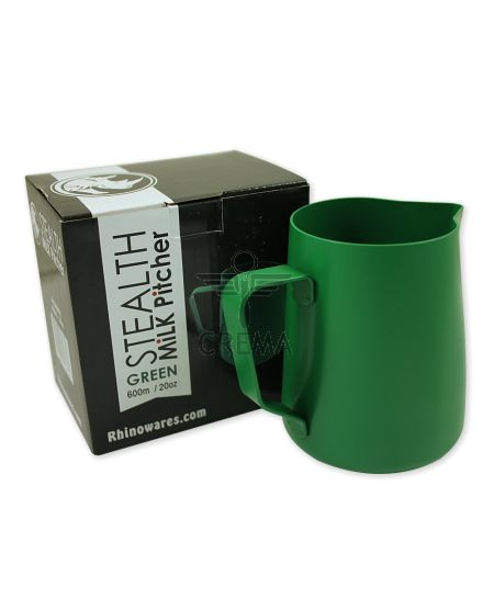 Rhinowares Stealth Green Milk Jug 600ml/20oz
