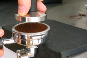Tamping Coffee, Crema Coffee Garage
